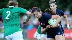 """Coupe du monde de rugby féminin : Lenaïg Corson alias """"Leny"""", l'un des moteurs de l'équipe de France - France 3 Bretagne - 21/08/2017"""