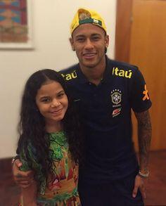 Ney com fã ontem !! ❤ #Neymar #Neymarjr ❤