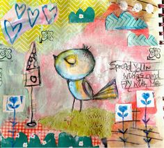 TandiArt: Draw It, Paint It, Collage it- tutorial