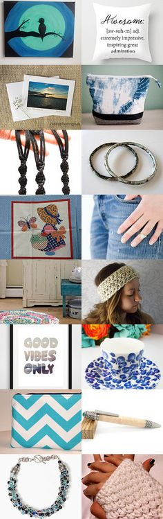 Blue Jeans and White T-shirts! by spoiledfelines1 on Etsy--Pinned+with+TreasuryPin.com #teamsp #etsyfinds