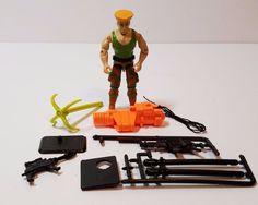 Vintage GI Joe Guile Street Fighter II 2 Hasbro Action Figure Weapons Complete…