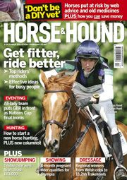 3 October issue. Find out what's inside http://www.horseandhound.co.uk/whats-in-horse-hound-magazine/