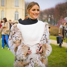 @Dior @oliviapalermo rocks a #Lynx by @lillyevioletta #superstylish #paris #parisfashionweek #originassured #livingluxuryeveryday #lillyevioletta