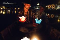 Hoi An - Vietnam.  #candle #people