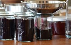 Confituur inmaken V60 Coffee, Preserves, Pesto, Food And Drink, Desserts, Chutneys, Pickles, Marmalade, Corning Glass