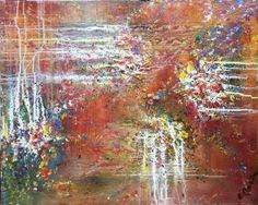 "Saatchi Art Artist Elena Barón; Painting, ""Sprouts"" #art"