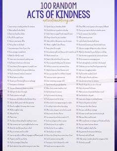 101 Of The Best Random Acts of Kindness Ideas, Free Printable, Acts of Kindness for Families, Kids, Everyone, Easy Ways to Show Kindness, Great Ideas!