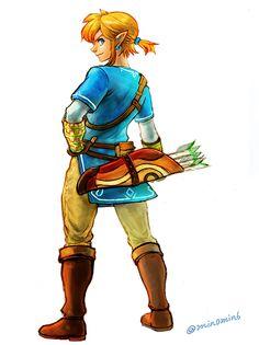 The Legend of Zelda Wii U, Link / 「ゼルダの伝説まとめ(再投稿)」/「梟」の漫画 [pixiv] [16]