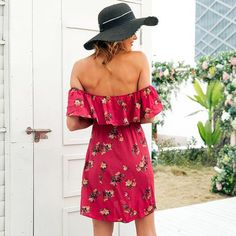 Floral print dresses knee lenght Women Clothing Stores Online, Online Clothing Boutiques, Online Fashion Stores, Mini Dresses, Floral Prints, Clothes For Women, Pretty, Style, Outerwear Women