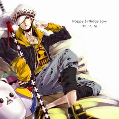 Trafalgar Law #one piece #heart pirates