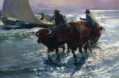 Toros en el mar.1903. Joaquín Sorolla