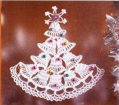 Новогодние елки вязаные крючком. Обсуждение на LiveInternet - Российский Сервис Онлайн-Дневников