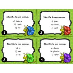 French Resources, Learn French, Task Cards, Classroom Organization, Comprehension, Elementary Schools, Language, Teaching, Activities