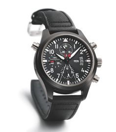 """The soon to be released film """"The Bourne Legacy"""" gets your attention with the exclamation """"There was never just one"""". But while there may be multiple Bournes, there is only one IWC Pilot's Watch Double Chronograph Top Gun edition."""