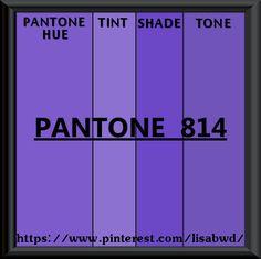 PANTONE SEASONAL COLOR SWATCH PANTONE  814