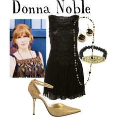 """Donna Noble"" by companionclothes on Polyvore"