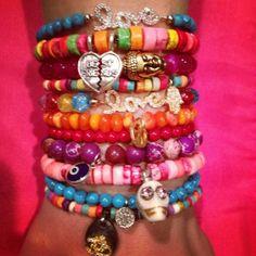 Mina Danielle bracelets for little girls!   http://minadanielle.tumblr.com/