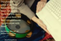 Package Your Expertise   Kat Fulton, MM, MT-BC   MusicTherapyEd.com