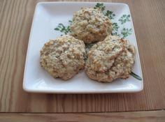 Banana Oatmeal Muffin Tops...all of the good parts of the muffin!