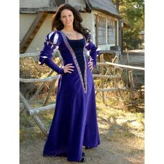 German Gown - Medieval Renaissance Clothing, Costumes found on Polyvore
