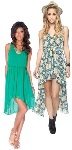 The high-low trend for dress and skirts, from Fashion Expert Bjorn!