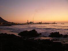Fotografía tomada en Marzo de 2007, desde la playa El Panteón.