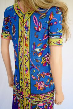 Vintage 1960's EMILIO PUCCI PsYcHeDeLiC NeOn by ElectricLadyland1
