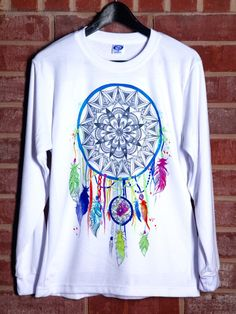 Rainbow Dream Catcher Long Sleeve