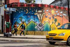 Mural entre calles Otero e Independencia- Jujuy