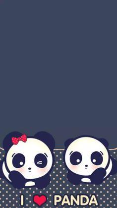 Panda Wallpaper Iphone, Cute Panda Wallpaper, Panda Wallpapers, Bear Wallpaper, Cute Cartoon Wallpapers, Cool Panda, Panda Love, Panda Background, Panda Art