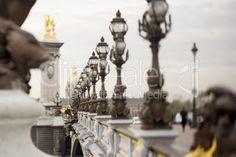 bridge in Paris Places To Travel, Places To Visit, Pont Alexandre Iii, Paris Pictures, Paris Love, Paris City, Grand Tour, Photo Colour, Amazing Architecture