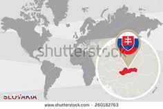 World Map Magnified Benin Benin Flag Stock Vector (Royalty Free) 261395735 Finland Flag, Norway Flag, Riga, Montenegro Flag, Cameroon Flag, Malta Flag, Slovakia Flag, Belgium Flag, Blue Nails