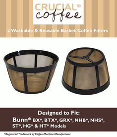 2 Bunn Replacement Washable Basket Coffee Filter Fits Models:BX >>> Check out this great product.
