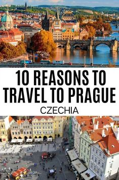 Thinking about Prague travel? Check out this inspiring post with the reasons why you should visit Prague Czechia! Europe Travel Guide, Us Travel, Travel Destinations, Prague Guide, Europe Bucket List, Visit Prague, Prague Travel, Mountain Resort, Most Beautiful Cities
