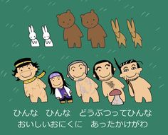 【13,000RT】『ゴールデンカムイ』金カムメンバーで日本昔話。キロさん忘れたわ Doodles, Animation, Humor, Manga, Comics, Illustration, Cute, Fictional Characters, Twitter