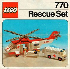 LEGO 770 Rescue Set instructions displayed page by page to help you build this amazing LEGO Rescue set Lego City Sets, Lego Sets, Lego Airport, Lego Super Mario, Classic Lego, Vintage Lego, Lego Group, Lego Movie 2, Lego Instructions