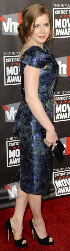 Amy Adams American Singers, American Actress, Gorgeous Film, Beautiful, Brenda Strong, Actress Amy Adams, Dinner Theatre, Golden Globe Award, Dress And Heels