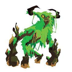 tree monster by Brett Bean