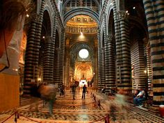 The Cathedral of Siena, Italy. Been here!