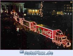-- The Coca-Cola trucks are touring the country from Scotland to the south coast, starting at Livingstone on November Christmas Scents, Christmas Past, Christmas Pictures, Christmas Lights, Vintage Christmas, Christmas Holidays, Cola Truck, Pub Coca, Coca Cola Christmas
