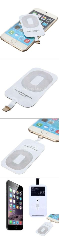 Now you can charge your phone wirelessly! Just attach the receiver to your battery, and place your phone on any charge pad without having to plug in.