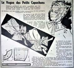 GRATUIT 40 Superbes Patrons de Couture VINTAGE 1938/1941 Patron Vintage, Sewing Headbands, Small Drawings, Make Your Own Clothes, Millinery Hats, Vintage Diy, Steampunk Clothing, Pattern Drafting, Fashion Sewing