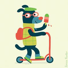 The Anibobs by Linzie Hunter, via Behance