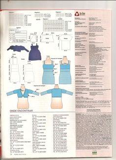 Vestido e bolero azuis