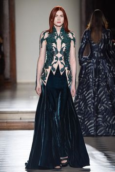 LOOK Number 31 in the First Night collection by Paris-based couturier Julien Fournié.