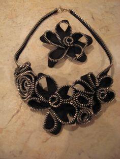 My Naptime Crafts: Zipper Necklace