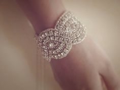 Lilliana Crystal Bracelet Wedding Bracelet Bridal Bracelet on Etsy, $54.46