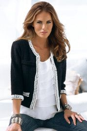 Love this pearl sweater