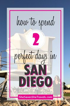 Best activities in San Diego and how to fit it into one weekend. This itinerary breaks down exactly where to go what to see and all the things to do in San Diego if you have only a weekend. babies flight hotel restaurant destinations ideas tips Family Vacation Destinations, Travel Destinations, Vacation Ideas, Beach Vacations, Dream Vacations, Travel Usa, Travel Tips, Travel Ideas, Canada Travel