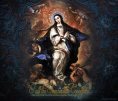 """I am the Immaculate Conception.""  – Our Lady to Saint Bernadette Soubirous Lourdes, France, 1858  www.Schmalen.com"